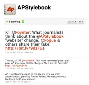 Stop the Press! AP Stylebook announces changes