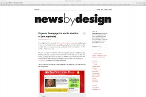 Blogs Worth Reading: News By Design