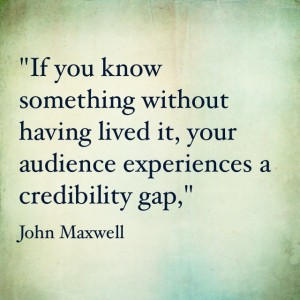 Quotables: John Maxwell on Credibility