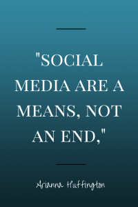 Quotable: Arianna Huffington on Social Media