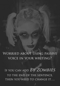 Nerd Note: How Zombies Make Your Writing Active