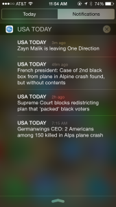 What Constitutes Breaking News?