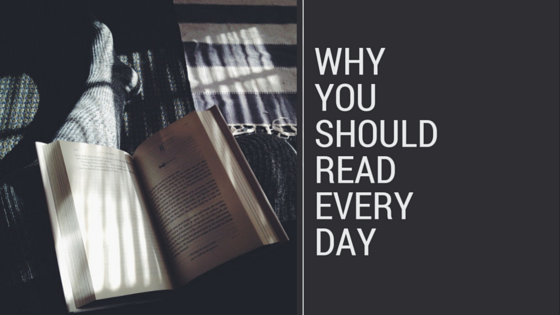 Why you should read every day graphic