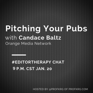 Lessons from #EditorTherapy on Pitching Your Pubs