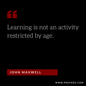 Quotable: John Maxwell on Learning