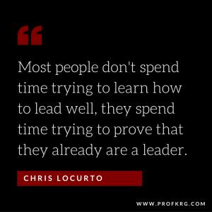Quotable: Chris LoCurto on Leadership