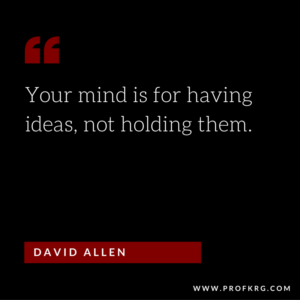 Quotable: David Allen on Productivity