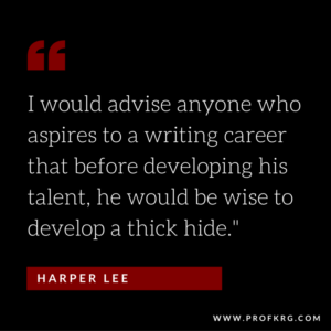 Quotable: Harper Lee on Writing
