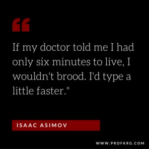 Quotable: Asimov on Writing