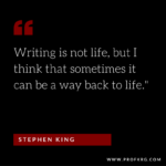 Quotable: Stephen King on Writing