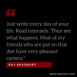 Quotable: Ray Bradbury on Writing