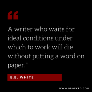 Quotable: E.B. White on Writing