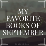 My Favorite Books of September