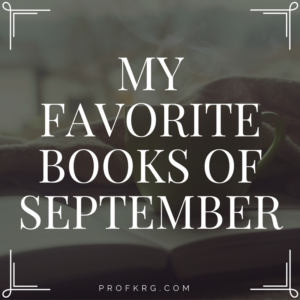 My Favorite Books of September
