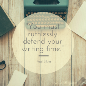 Quotable: Paul Silvia on Writing