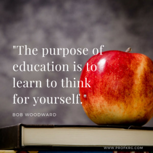 Quotable: Bob Woodward on Education
