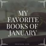 My Favorite Books of January