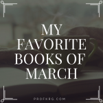 My Favorite Books of March