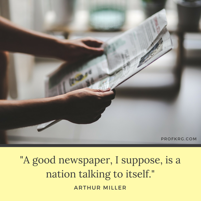 newspaper quotes