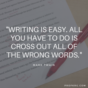 Quotable: Twain on Writing