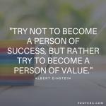 Quotable: Einstein on Success