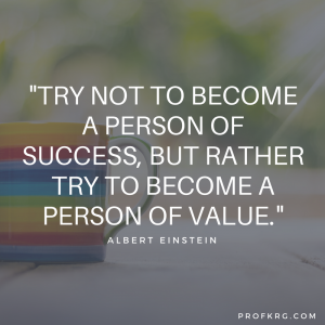 Quotable: Einstein on Success