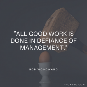 Quotable: Woodward on Work