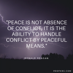 Quotable: Reagan on Conflict