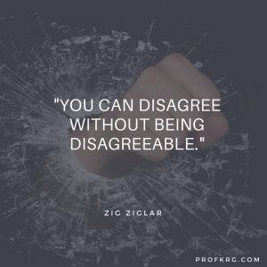 Quotable: Zig Ziglar on Disagreement