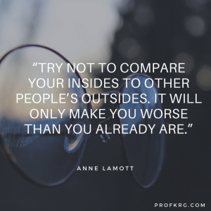 Quotable: Anne Lamott on Comparison
