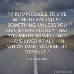Quotable: J.K. Rowling on Failure