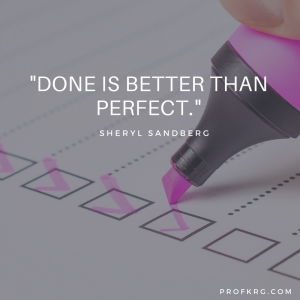 Quotable: Sheryl Sandberg on Finishing