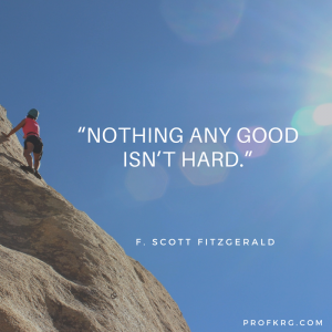 Quotable: F. Scott Fitzgerald on Challenges