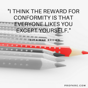 Quotable: Rita Mae Brown on Conformity