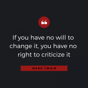 Quotable: Mark Twain on Criticism