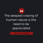 Quotable: William James on Appreciation