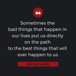 Quotable: Nicole Reed on Disappointment