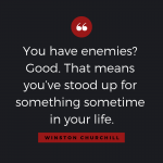 Quotable: Churchill on Enemies