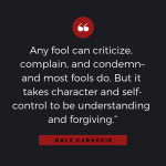 Quotable: Carnegie on Criticism