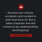 Quotable: Carnegie on Criticism