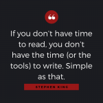 Quotable: Stephen King on Reading